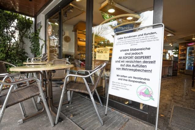 Unterhaching, Corona-Krise, Bäckerei, Fiegert hat Sicherheitsvorkehrungen getroffen