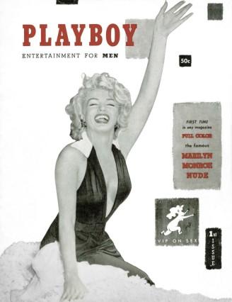 Erster Playboy mit Marilyn Monroe, Dezember 1953