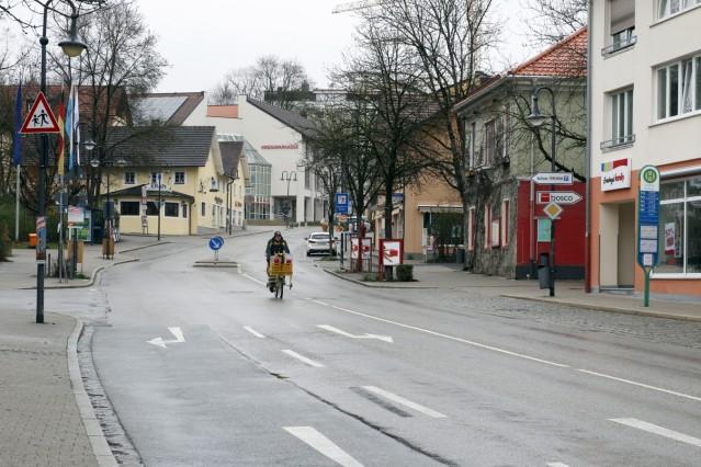 Corona leert die Bahnhofstraße
