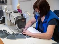 Matratzenhersteller stellt Mundschutzmasken her
