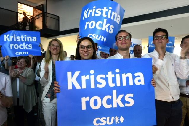 Kristina Frank zur OB-Kandidatin der CSU in München gewählt, 2019