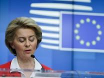 Ursula von der Leyen, EU