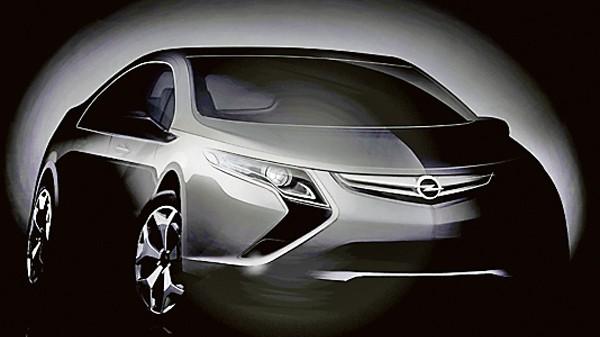 Alternative Antriebe Opel Ampera