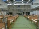 Sporthalle zur Notfallklinik umgebaut (Vorschaubild)