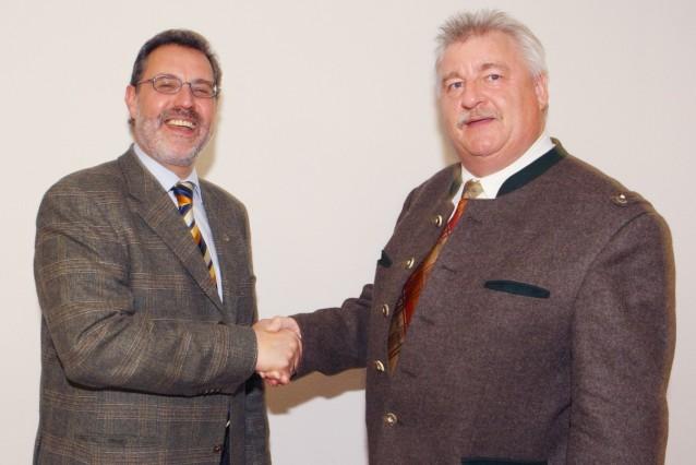 Josef Janker CSU Bürgermeister Bad Tölz 2008 CSU-Fraktionschef Anton Heufelder