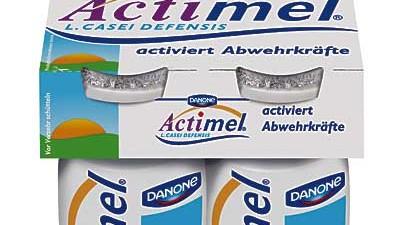 Ernährung Joghurt-Werbung