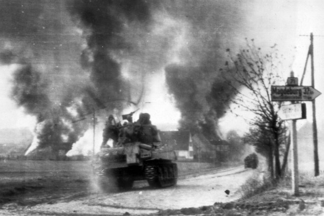 WWII Germany Born Destruction