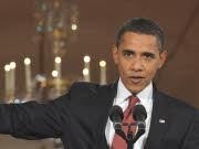 Barack Obama bei der Pressekonferenz zum 827-Milliarden-Dollar-Konjunkturprogramm Foto: AFP
