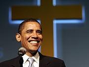 Barack Obama 2007 in Harvey, Illinois AFP