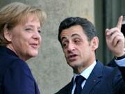 Merkel; Sarkozy