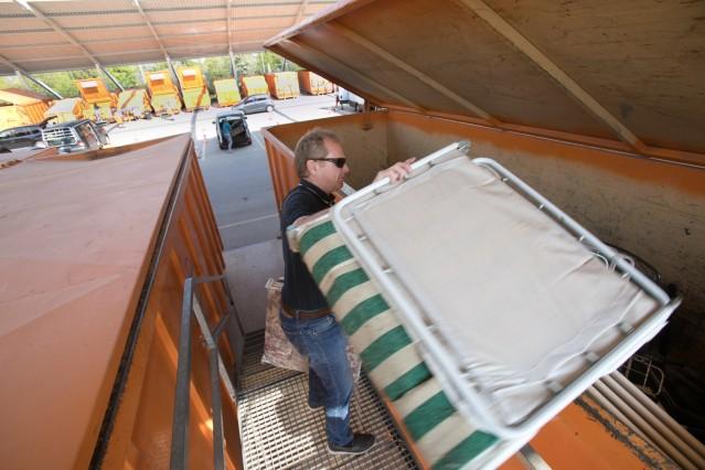 Wertstoffhof Langwied wieder geöffnet nach Logdown aufgrund der Corona-Krise