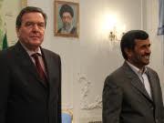 Besuch bei Ahmadinedschad, Kritik an Schröders Iran-Reise, afp