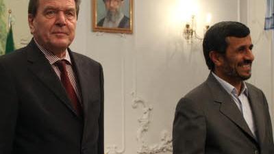 Besuch bei Ahmadinedschad
