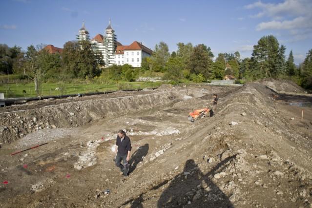 Ausgrabungen Kloster Schlehdorf