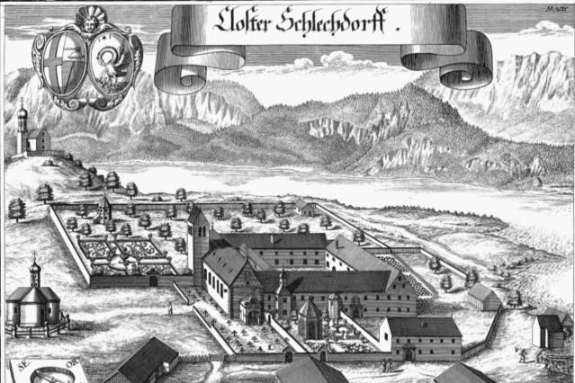 Kloster Schlehdorf, Stich von Wening