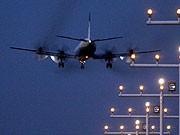 Landeanflug, dpa