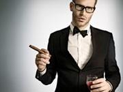 """Der moderne Der moderne Gentleman, """"Ein Herr sollte keine Plastiktüte tragen""""Gentleman"""