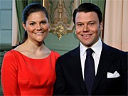 Victoria von Schweden und Daniel Westling; AP