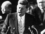 Inauguration Amtsantritt Rede Barack Obama John F Kennedy AP