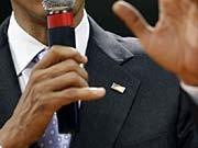 Kaum ein Politiker wird so positiv wahrgenommen wir Barack Obama. Der US-Präsident ist ein Profi der Körpersprache und Symbolik. Reuters