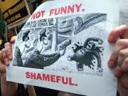 Karikatur: Obama als Affe, AFP