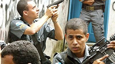 Polizei in Rio de Janeiro