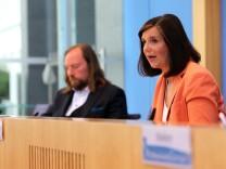 Greens Party Presents Economic Policy Program During The Coronavirus Crisis