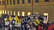 Demo gegen die Sicherheitskonferenz