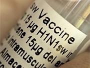 Schweinegrippe-Impfung, dpa