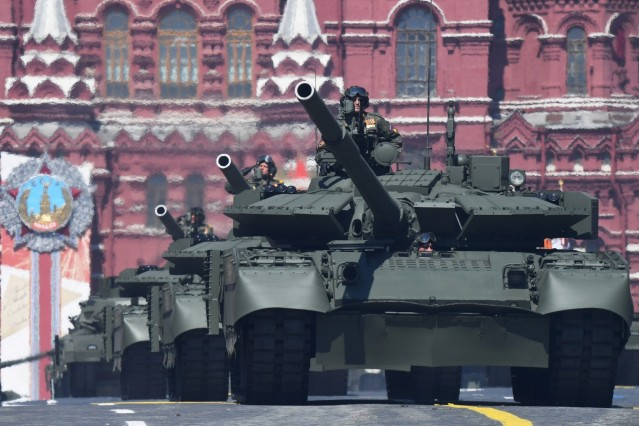 Victory Day Parade in Moscow