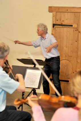 Gauting : Remise Musikfreunde Gauting  - 1.  Orchesterprobe