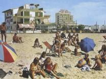 Alte Postkarten-Ansicht von Mallorca