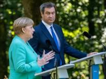 Merkel Söder Herrenchiemsee
