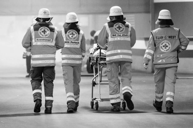 Katastrophenschutzübung zur Fußball-EM 2020; Feuerwehr