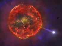 Pressefoto zur redaktionellen Verwendung im Zusammenhang mit der Meldung, Supernova Destroying Planets, Credit: University of Warwick/Mark Garlick