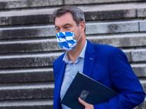 Letzte Kabinettssitzung in Bayern vor der Sommerpause
