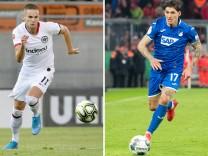 Tausch perfekt:Gacinovic zu Hoffenheim, Zuber nach Frankfurt