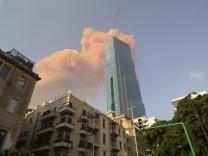 Schwere Explosion in Hauptstadt Beirut