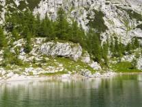 Der Veliko Jezero liegt im Sieben-Seen-Tal im Nationalpark Triglav.