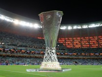 Europa League File Photo File photo dated 29-05-2019 of A view of the Europa League trophy. FILE PHOTO Editorial use onl; Europa League