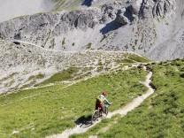 Davos Mountainbiken, Jakobshorn, Parsenn, Fanezfurgga, Fotograf: Hans Gasser