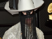 January 26, 2020, Los Angeles, CA, USA: LOS ANGELES - JAN 26: Orville Peck at the 62nd Grammy Awards at the Staples Cent