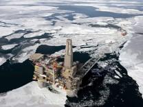 Russische Öl- und Gasförderung