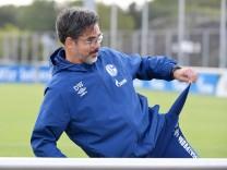 Trainer David Wagner (FC Schalke 04) während der Medienrunde nach dem Spiel 05.09.2020, Fussball GER, 1. Bundesliga, 2.