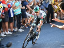 Lennard Kamna of Bora - Hansgrohe pictured during stage 14 of the 107th edition of the Tour de France cycling race from