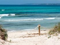 Mallorca, Balearen:Strand Es Trenc