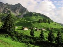 Alpe Steris Großes Walsertal
