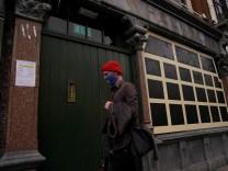 FILE PHOTO: Outbreak of the coronavirus disease (COVID-19) in Dublin