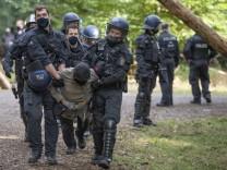 Proteste im Dannenröder Forst