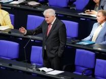 Seehofer Flüchtlinge Moria Bundestag